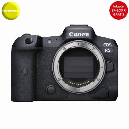 Aparat cyfrowy Canon EOS R5 Body - RATY 10x0% - zapytaj o ofertę
