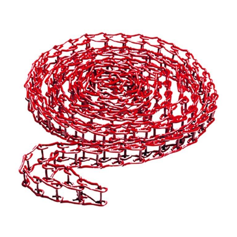 Łańcuch metalowy 3,5m czerwony do 046 - Manfrotto 091MCR