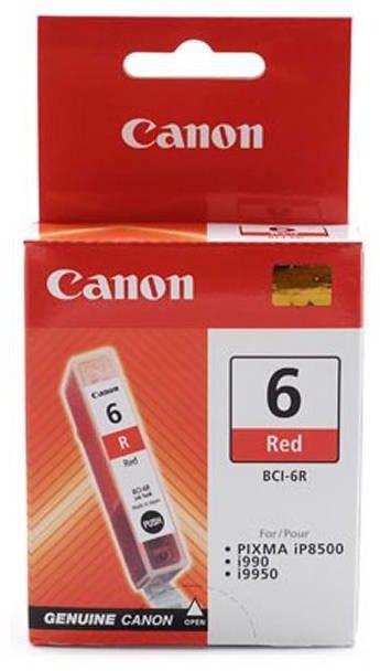 Wkład czerwony CANON BCI-6R (13 ml) (8891A002)