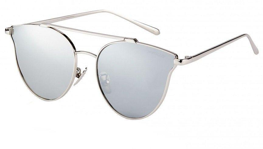 Kocie oczy damskie srebrne lustrzanki pre-05