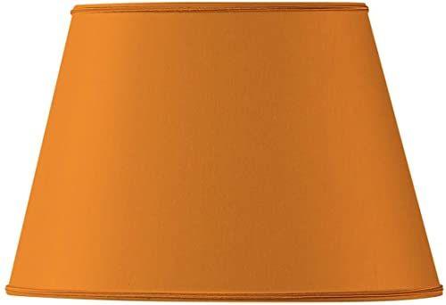 Klosz lampy owalny, średnica 35 x 24,5 cm, 21,5 x 15 cm, pomarańczowy
