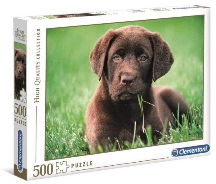 Puzzle 500 HQ Chocolate Puppy - Clementoni