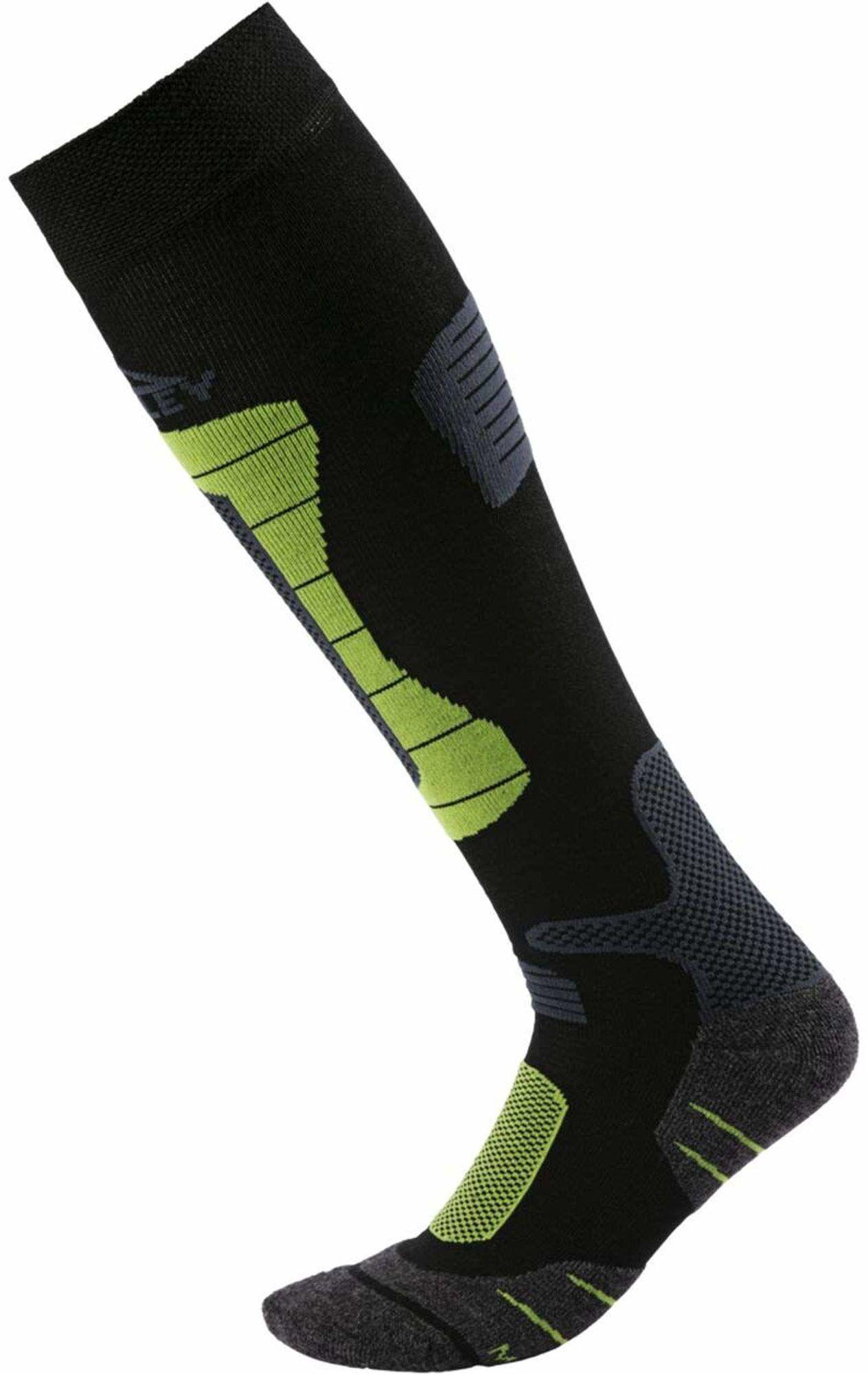 McKINLEY Ben rajstopy męskie czarny czarny/zielony 45-47