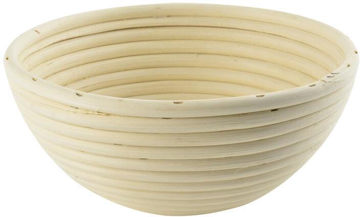 Wiklinowa koszyk do przygotowania chleba średnica 19 cm