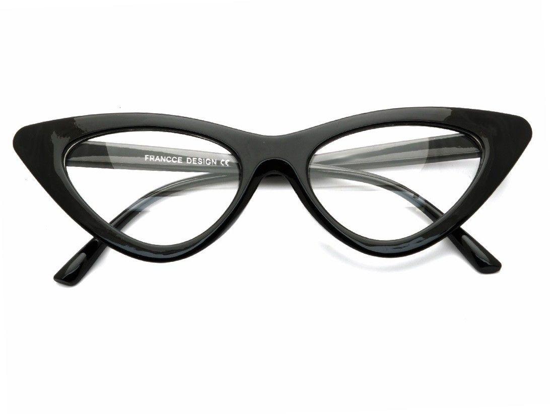 Kocie oczy okulary Zerówki Damskie CAT EYES F-291C