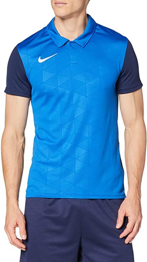 Nike Trophy IV męska koszulka polo, Royal Blue/Midnight Navy/White, S