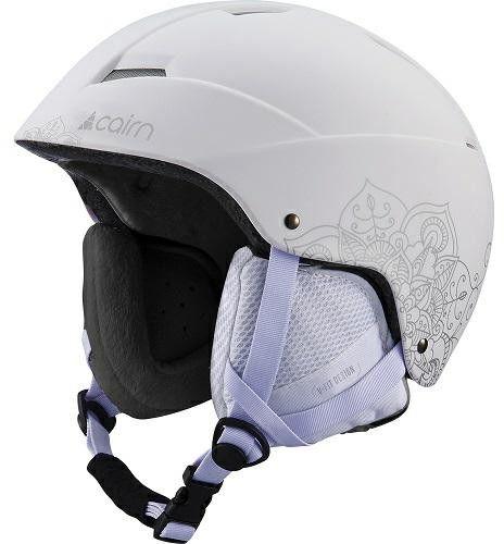 CAIRN kask narciarski/snowboardowy ANDROMED white 060515010161/62 Rozmiar: 59-60,0605150101