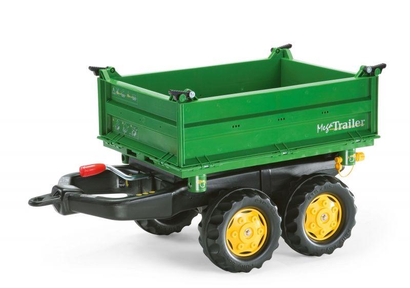 Rolly Toys rollyTrailer Przyczepa Wywrotka Mega Trailer do Traktora LK
