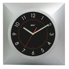 Zegar ścienny srebrny NEPTUN #3