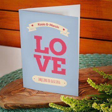 Love - kartka z życzeniami
