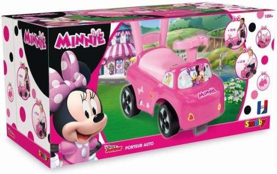 Jeździk Chodzik 2w1 na licencji Minnie Mouse od firmy SMOBY