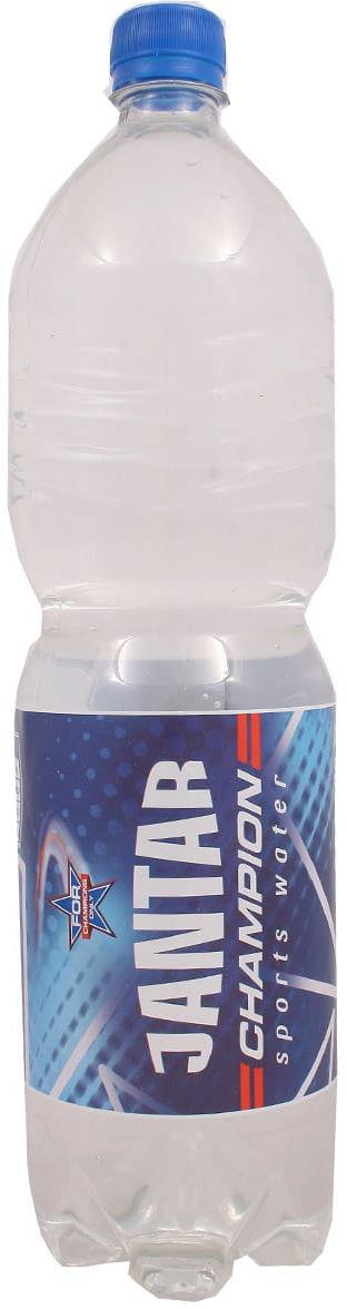 Woda Champion niegazowana - Jantar - 1500ml