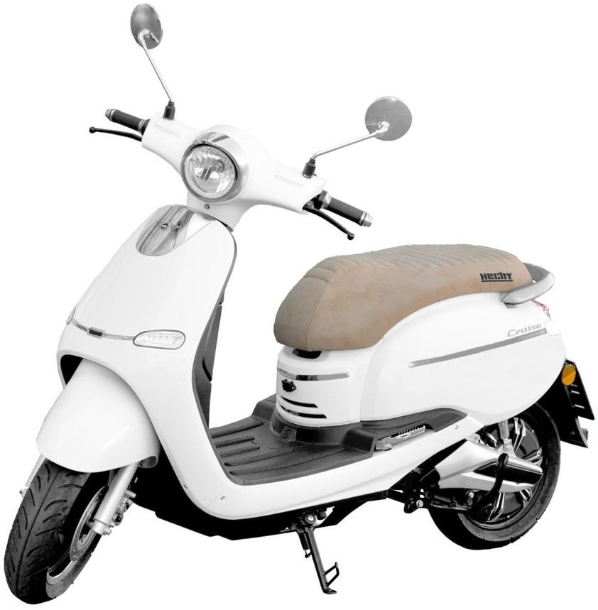 HECHT CITIS WHITE SKUTER ELEKTRYCZNY AKUMULATOROWY E-SKUTER MOTOR MOTOCROSS MOTOREK MOTOCYKL RETRO By VESPA - OFICJALNY DYSTRYBUTOR - AUTORYZOWANY DEALER HECHT