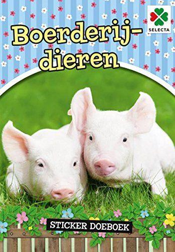SELECTA SPEL EN HOBBY 54621 Dit is mooiste boek Over boerderijdieren. Pak snel je potloden stiften en Start de Reis Door het platteland. Aantal pagina''s: 32, Groen
