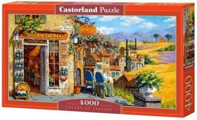 Castorland Puzzle Castor 4000 - Kolory Toscani, Colors of Tuscany