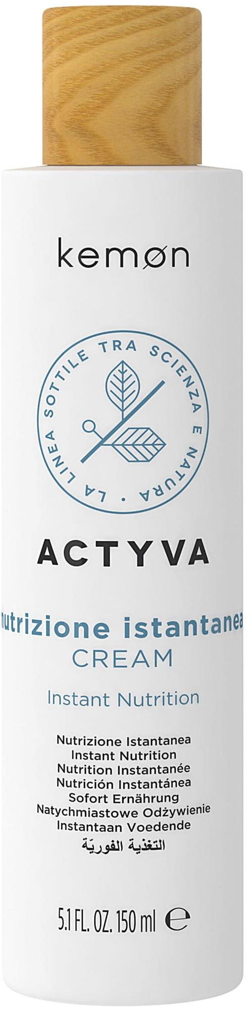 Kemon Actyva Nutrizione Cream krem nawilżający suche włosy 150ml