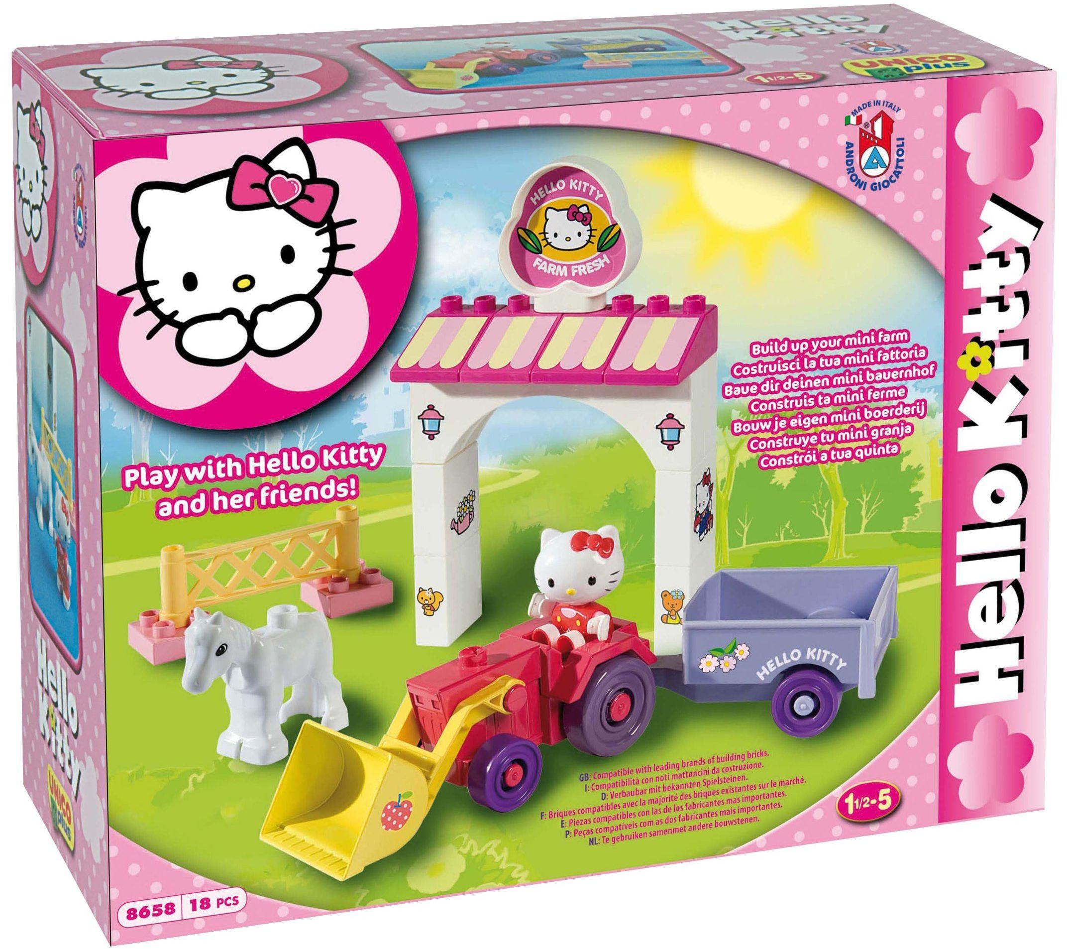 MGM 108658Hk zestaw montażowy  Hello Kitty  18-częściowy
