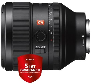 Obiektyw Sony SEL FE 85mm f1.4 GM + CASHBACK 400 ZŁ. + Filtr B&W 77mm UV E