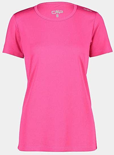 CMP T-shirt damski Tecnica Con Upf, fuksja, 50