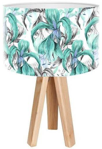Lampa stołowa mini-trójnóg Smutne Liście