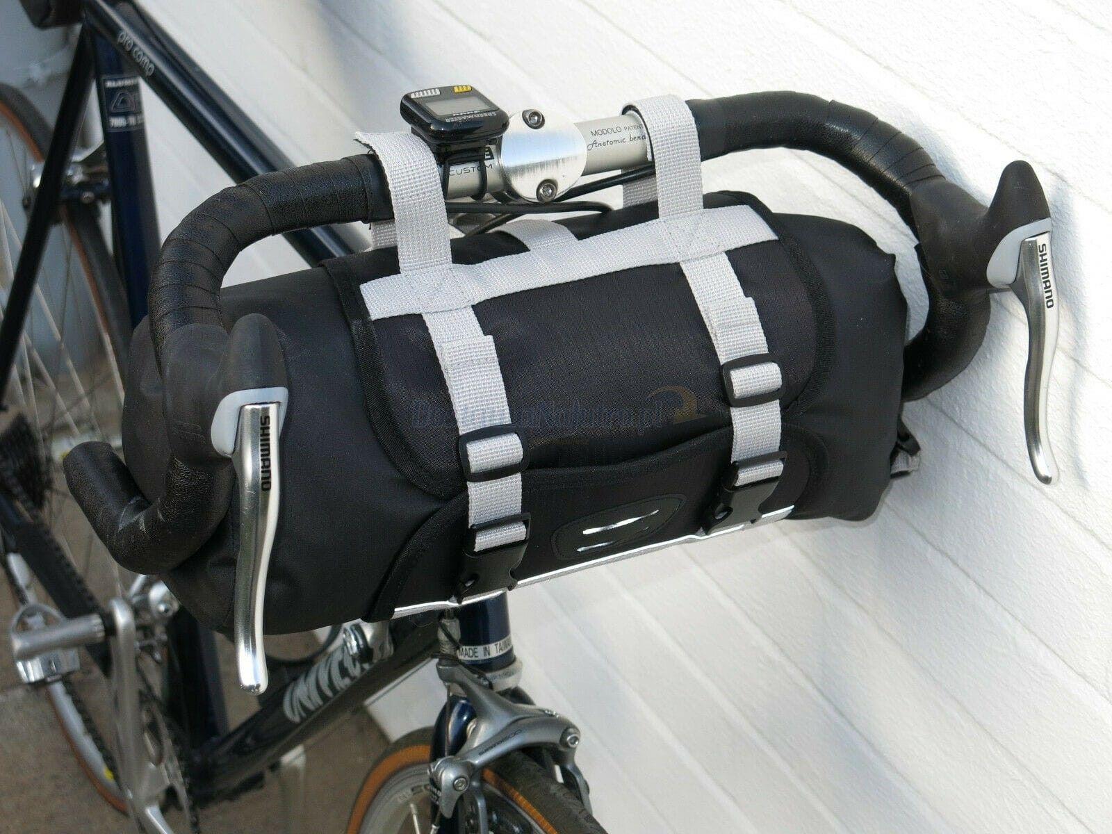 Sakwa torba rowerowa na kierownicę rolowana wodoodporna Dry Bag 9 l
