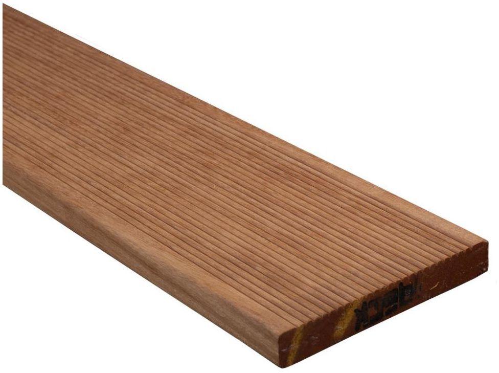 Deska tarasowa BANGKIRAI 245 x 14.5 cm 2.1 mm drewniana DLH