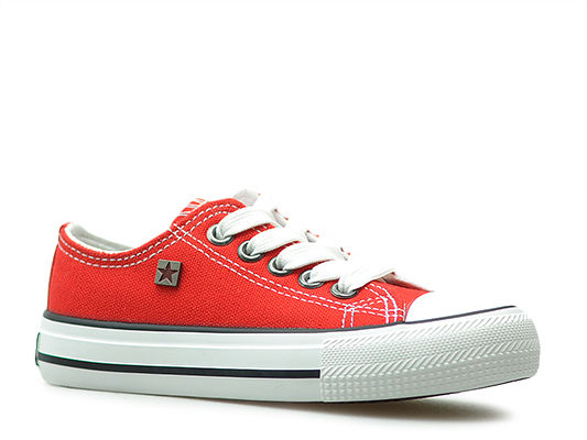 Trampki Big Star W374002 Czerwone