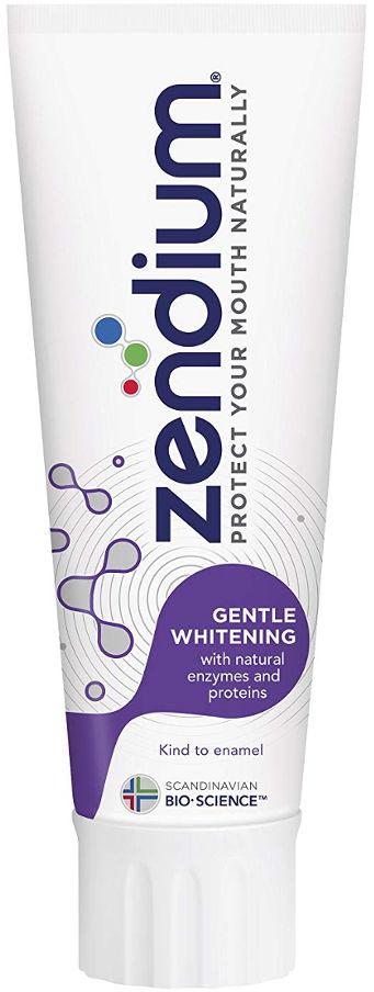 ZENDIUM Gentle Whitening 75ml - wybielająca pasta do zębów z enzymami