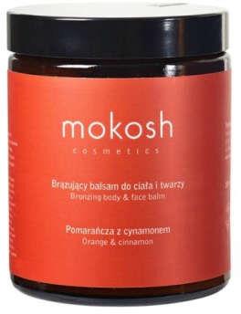Mokosh brązujący balsam do ciała i twarzy pomarańcza z cynamonem 180 ml