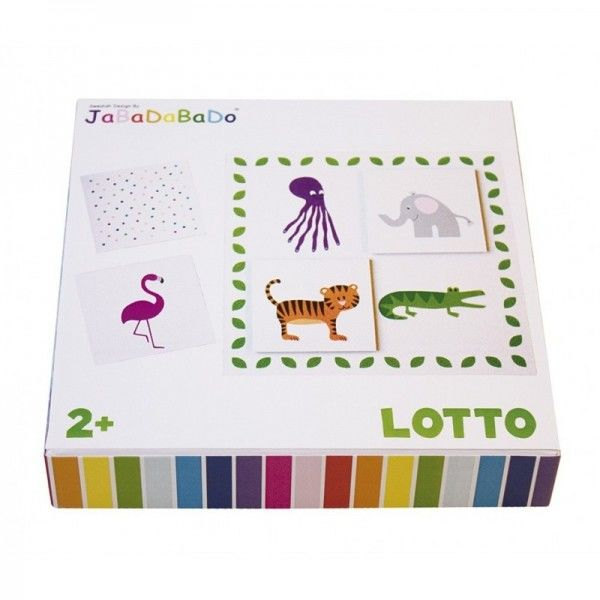 Jabadabado - gra Lotto Zwierzątka