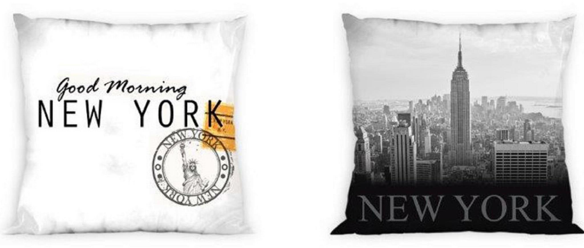 Poszewka na poduszkę 40x40 Nowy Jork
