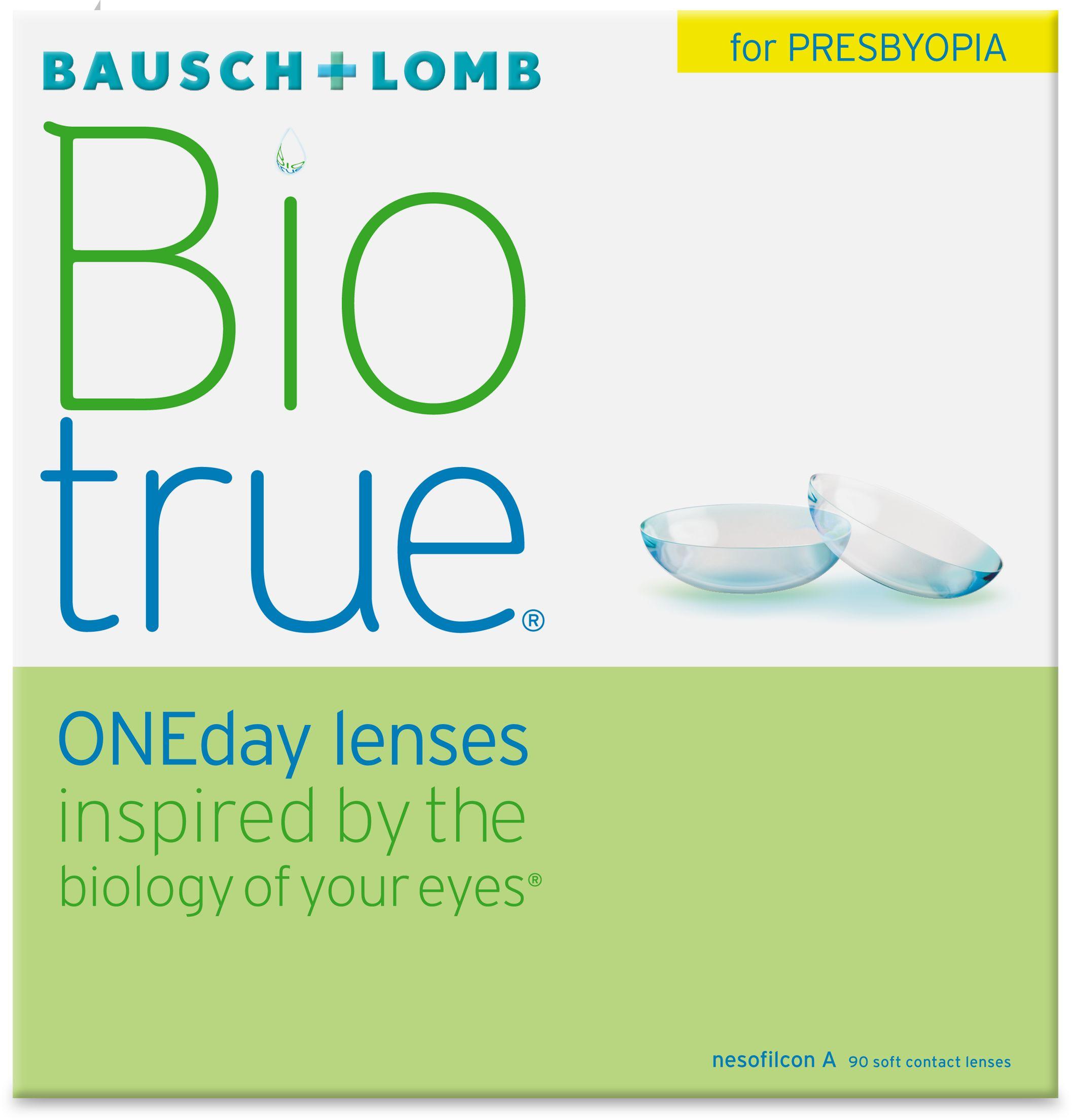 Biotrue ONEday for Presbyopia, 90 szt.