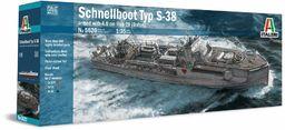 Italeri 510005620 1:35 szybkoboot, typ S-38/4,0 cm, Flak 28