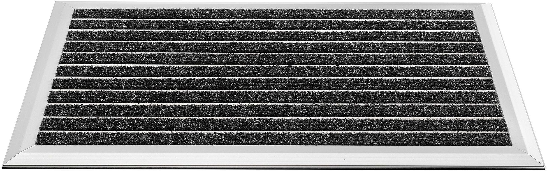 HMT wycieraczka z polipropylenu, antracytowa, 39 x 60 cm