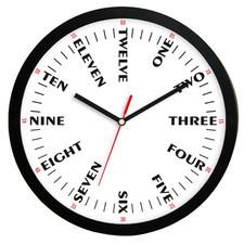 Zegar ścienny solid języki świata