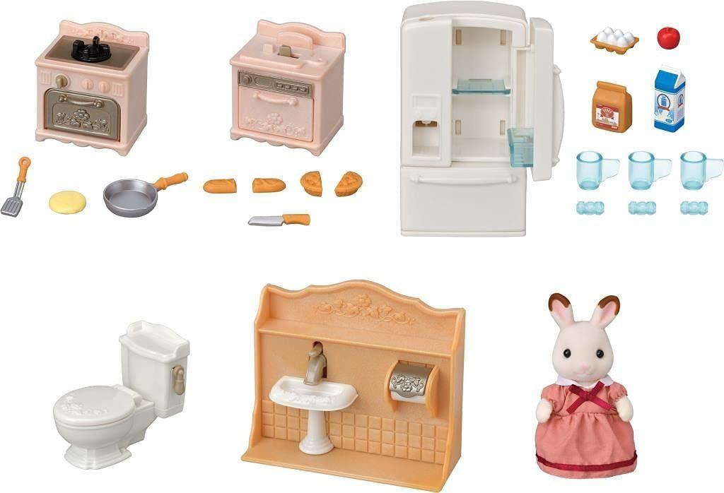 Sylvanian Families 5449 zestaw mebli dla lalek akcesoria do domu dla lalek