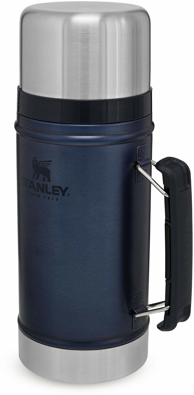 Stanley Classic Legendary Food Jar 0.7L / 24OZ Nightfall  Termos do żywności ze Stali Nierdzewnej BEZ BPA - Utrzymuje ciepło przez 15 godzin - Do Mycia w Zmywarce