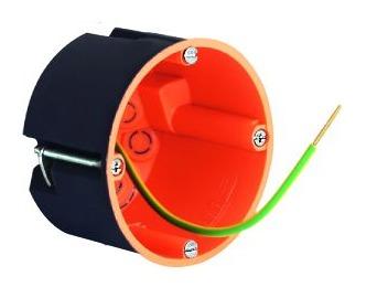 Ekranowa puszka osprzętowa / rozgałęźna 68 / 47 mm