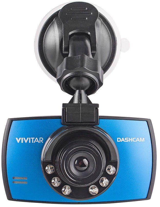 Vivitar DCM106-BLU kamera samochodowa czujnik 90  G Micro SD niebieska