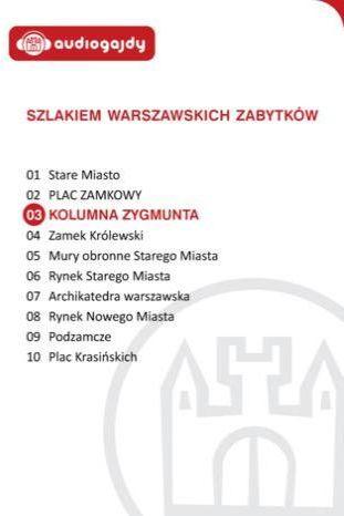 Kolumna Zygmunta. Szlakiem warszawskich zabytków - Ebook.