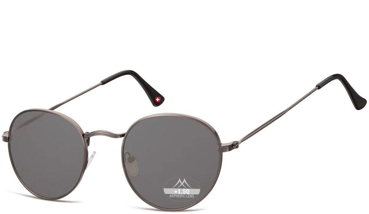 Przyciemniane asferyczne okulary do Czytania Lenonki Montana HMR54S moc: +2