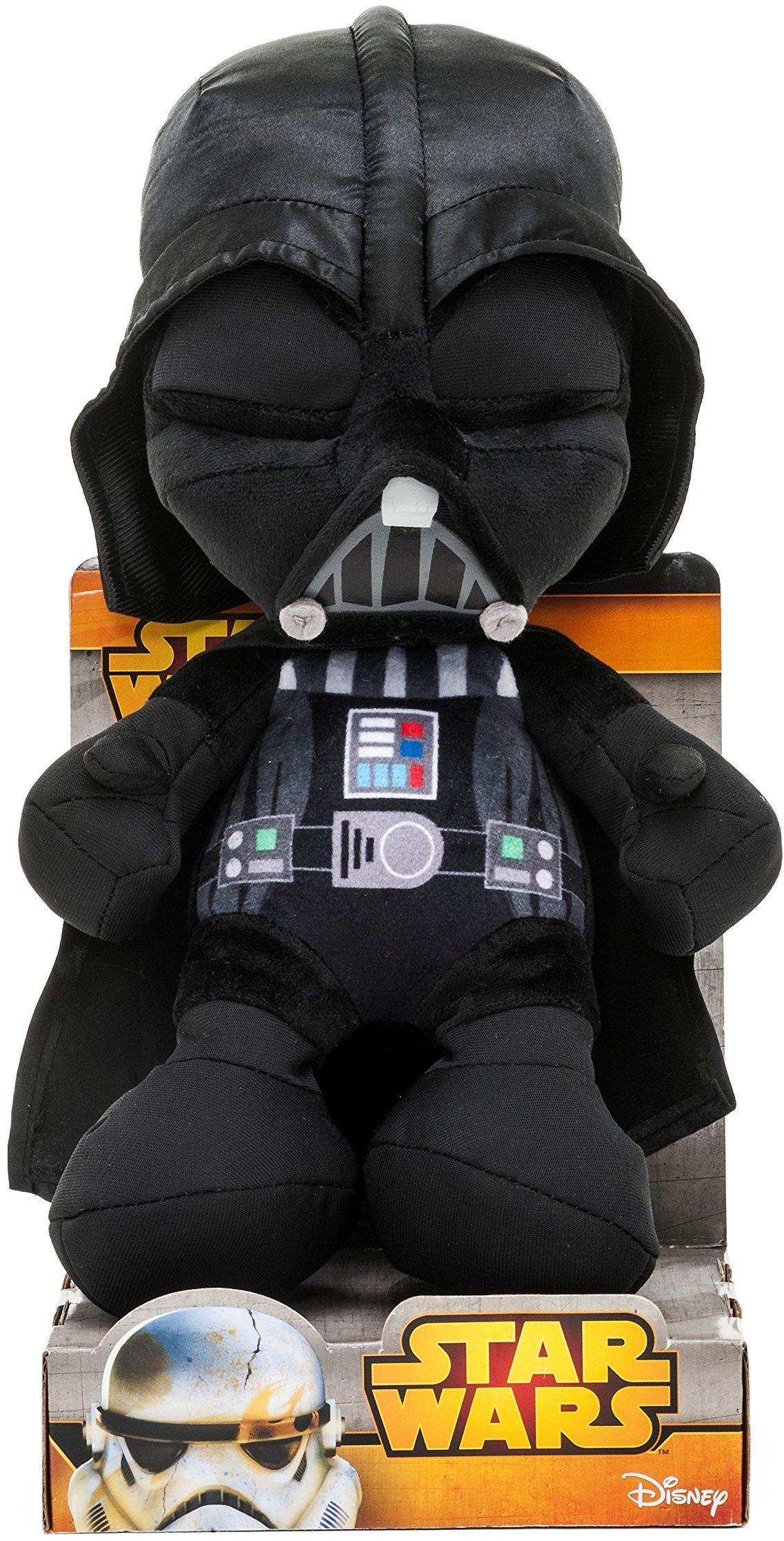 Joy Toy 1400615 - Darth Vader Velboa aksamitny plusz 25 cm w pudełku prezentowym