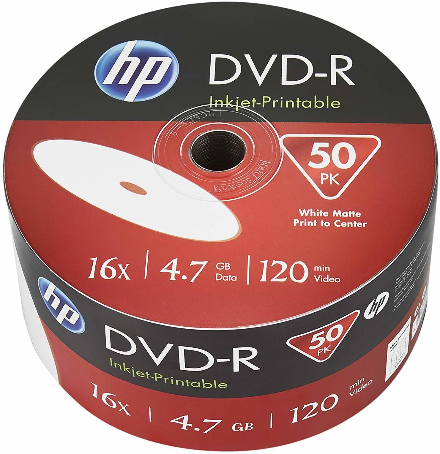 Hp DME00070WIP, Puste Nośniki DVD-R, 50