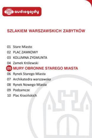 Mury obronne Starego Miasta. Szlakiem warszawskich zabytków - Ebook.