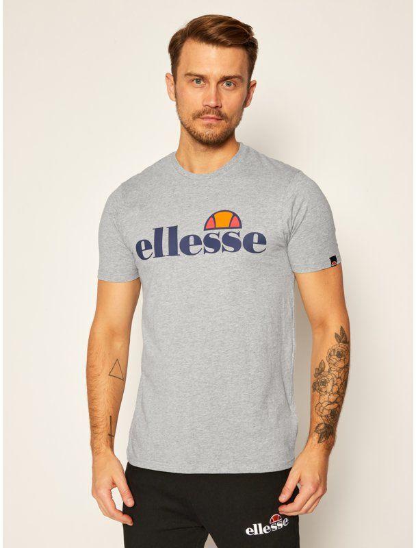 Ellesse T-Shirt Sl Prado SHC07405 Szary Regular Fit