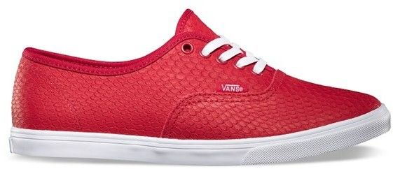 buty VANS - Authentic Lo Pro (Embossed Snake) Chili Pepper (8KU)