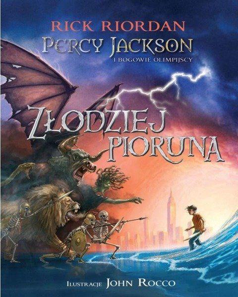 Percy Jackson i bogowie - T1 Złodziej pioruna TW - Rick Riordan