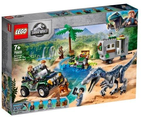 LEGO - JURASSIC WORLD - STARCIE Z BARIONYKSEM: POSZUKIWANIE SKARBÓW - 75935