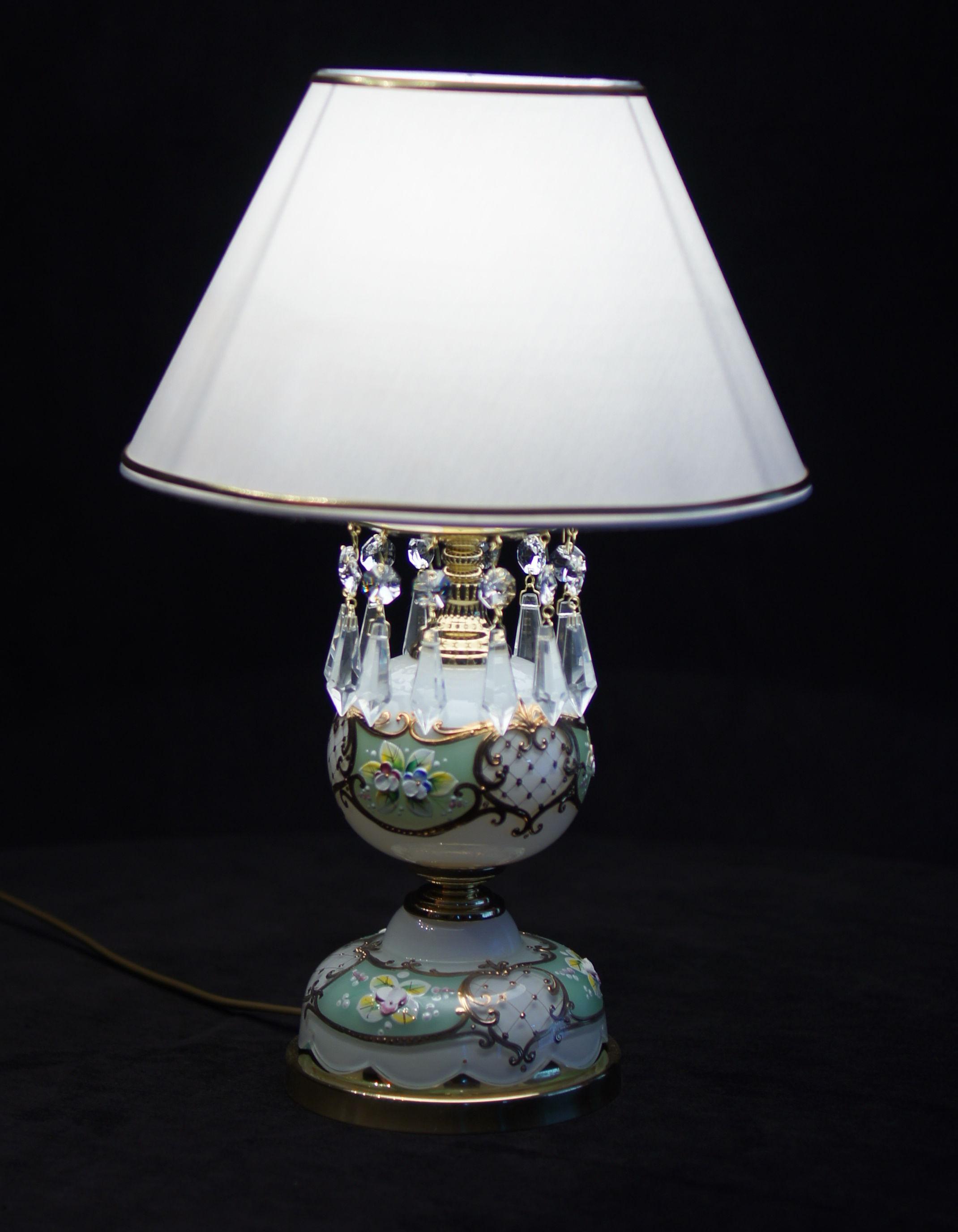 Lampka nocna z kryształkami Spectra Swarovski