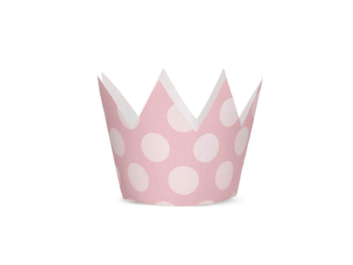 Korona królowej różowa - 1 szt.